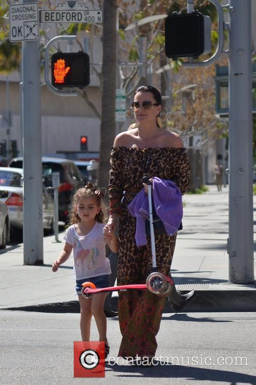 Kyle Richards and Portia 9