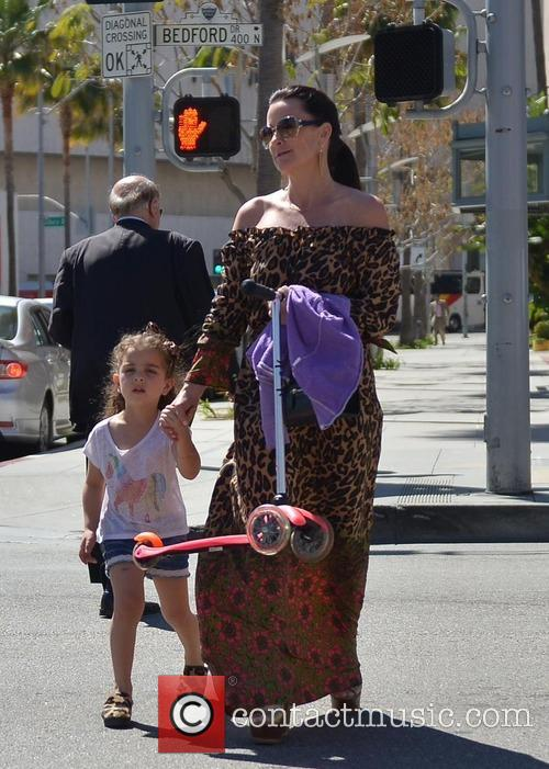Kyle Richards and Portia 10