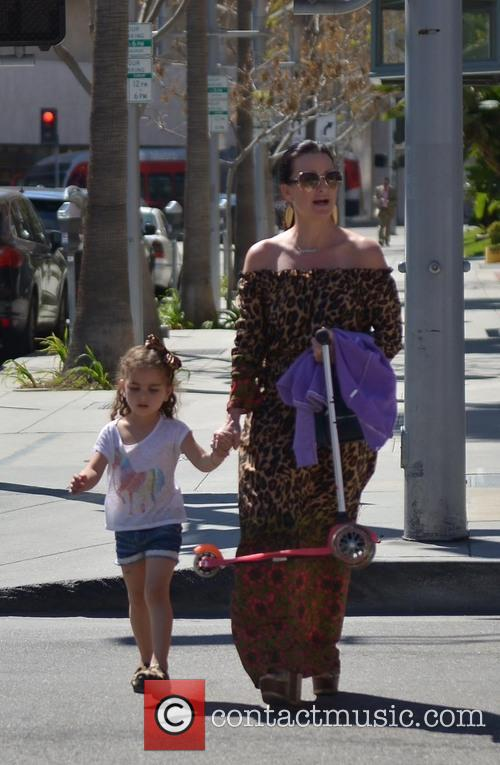 Kyle Richards and Portia 11