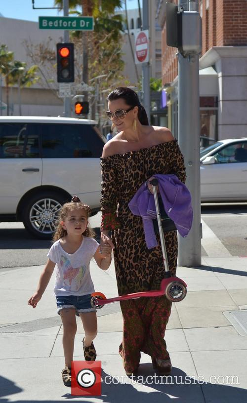 Kyle Richards and Portia 6