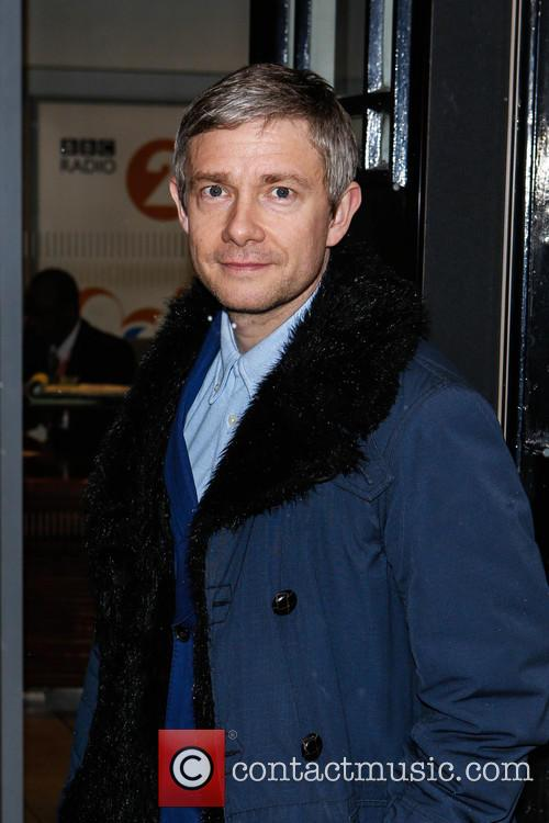 Martin Freeman At Radio 2