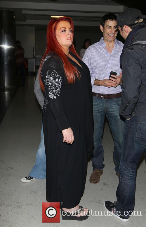 Wynonna Judd arriving at LAX Airport