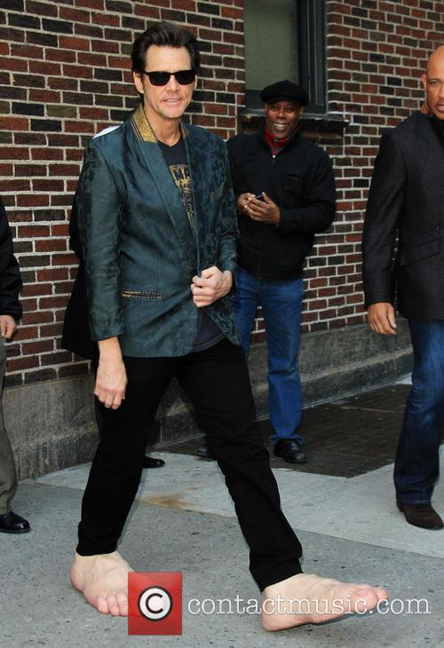 Jim Carrey, Ed Sullivan Theater, The Late Show