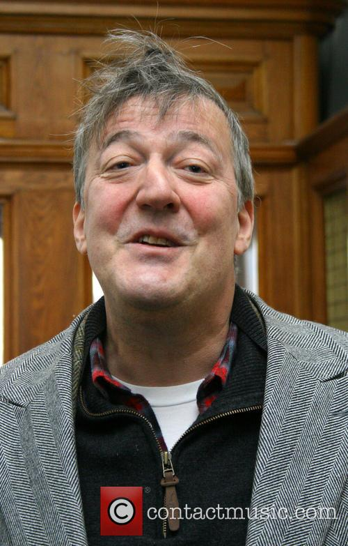 Stephen Fry in St. Petersburg