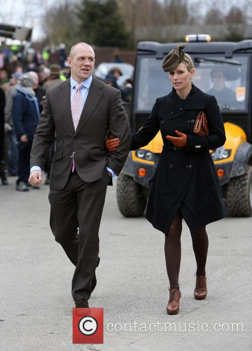 Zara Phillips and Mike Tindall 2