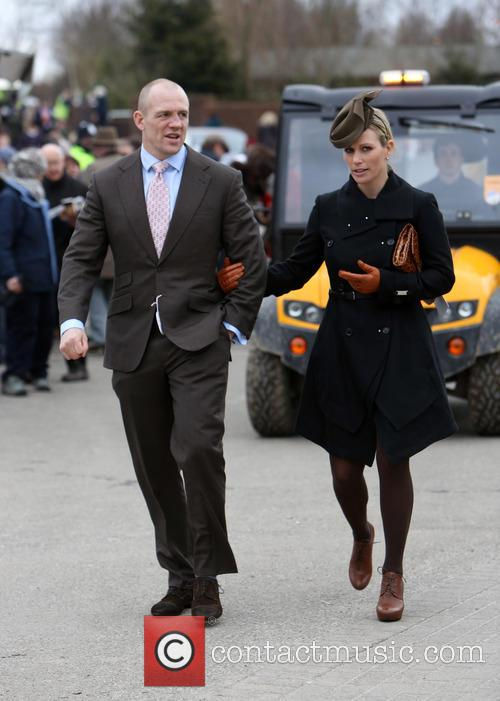 Zara Phillips and Mike Tindall 8