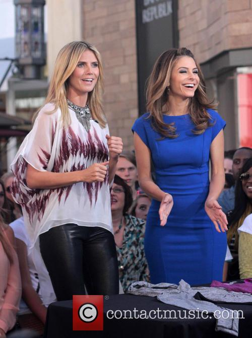 Heidi Klum and Maria Menounos 13
