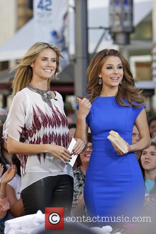 Heidi Klum and Maria Menounos 17