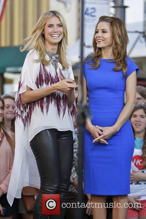 Heidi Klum and Maria Menounos 20