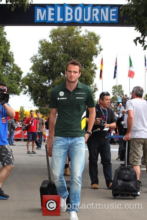 Formula One, CATERHAM and Giedo van de Garde 2