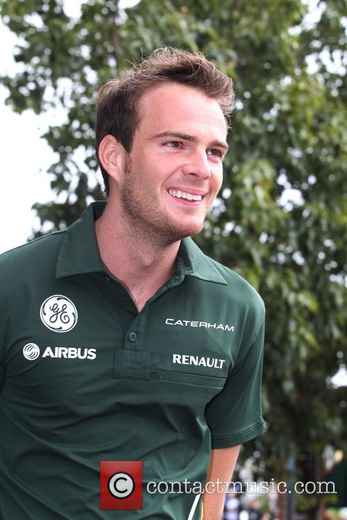 Formula One, CATERHAM and Giedo van de Garde 3