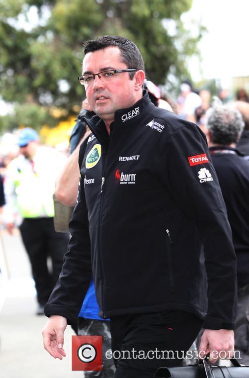 Formula One, ERIC BOULLIER, LOTUS-Renault team principal, Albert Park