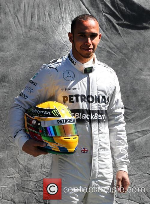 Lewis Hamilton and Mercedes Gp W04 11