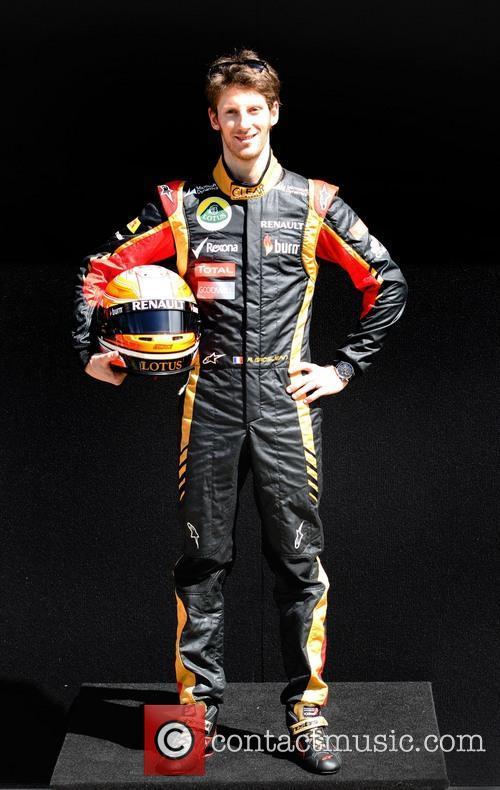 Formula One, ROMAIN GROSJEAN and LOTUS Renault 1