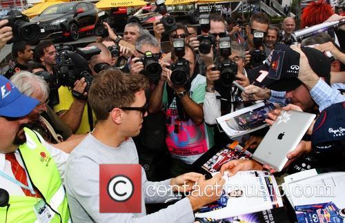 Formula One, Sebastian VETTEL and Red Bull-Renault RB9 3