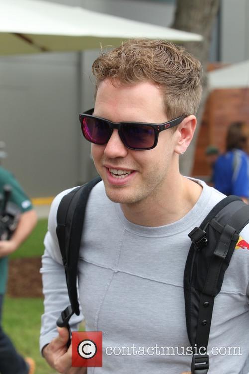 Formula One, Sebastian VETTEL and Red Bull-Renault RB9 5
