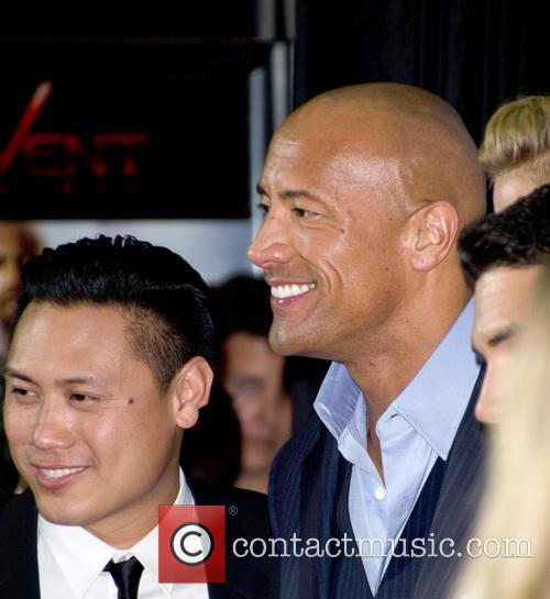 Dwayne Johnson and Jon M. Chu 3