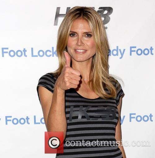 Heidi Klum New Balance Launch