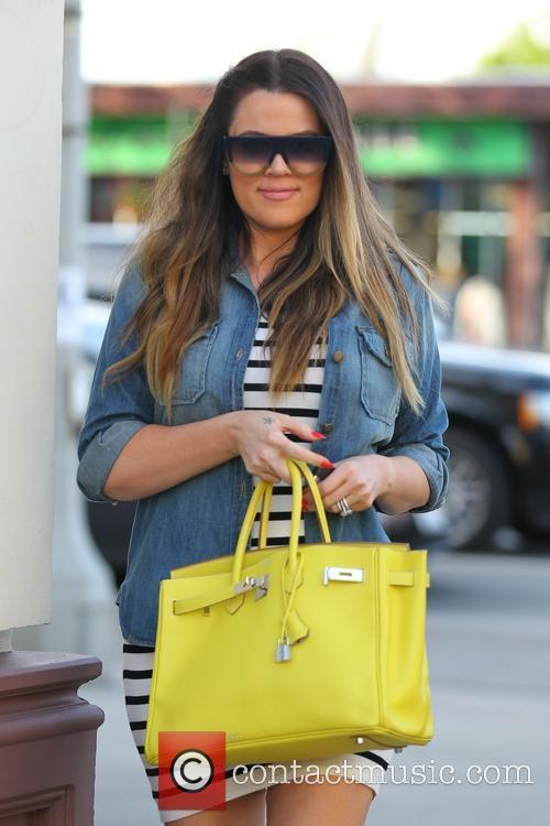 Khloe Kardashian seen leaving On The Thirty restaurant