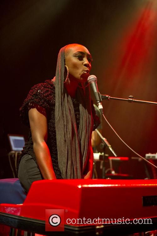 Laura Mvula performing live at Shepherds Bush Empire