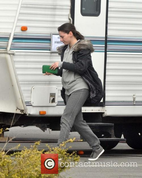 Celebrities filming season four of TV show 'Love/Hate'