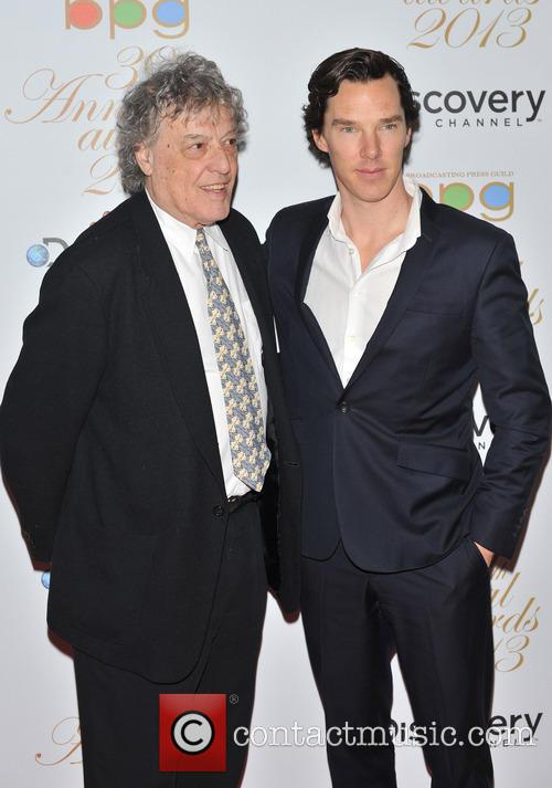 Benedict Cumberbatch and Sir Tom Stoppard 5