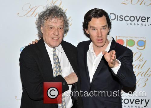 Benedict Cumberbatch and Tom Stoppard 2