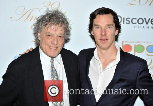 Benedict Cumberbatch and Tom Stoppard 7
