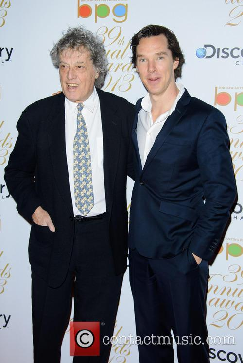 Tom Stoppard and Benedict Cumberbatch 4