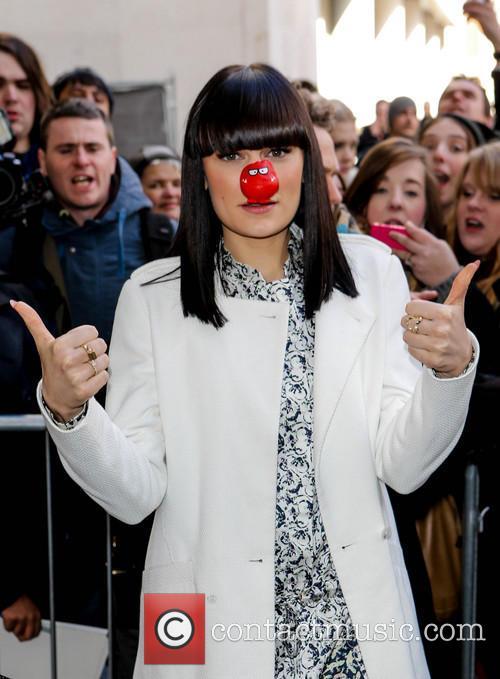 jessie j celebrities at the bbc radio 3554709