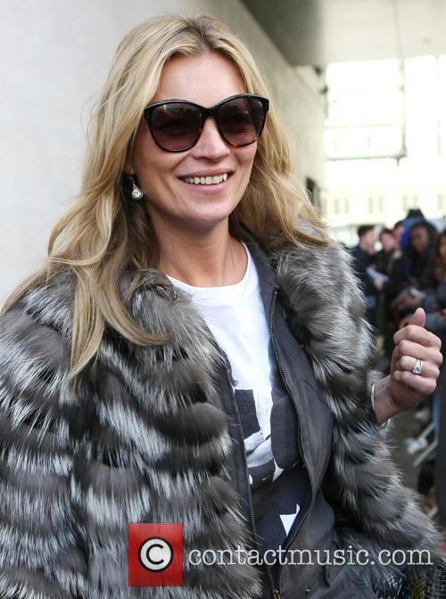 kate moss celebrities at the bbc radio 3554803
