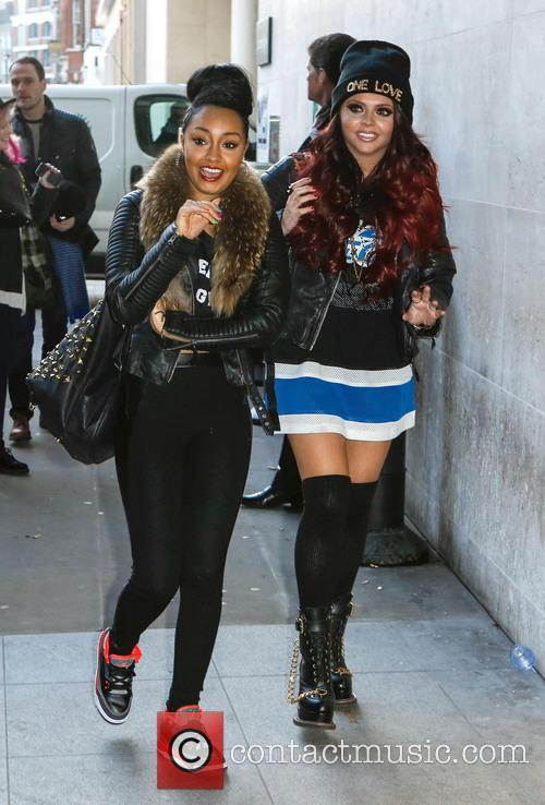 leigh anne pinnock jesse nelson little mix celebrities outside the 3554572