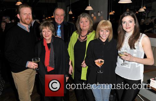 Tom Goodman-hill, Kika Markham, Aisling Loftus, Lindy Woodhead and Lauren Crace 1