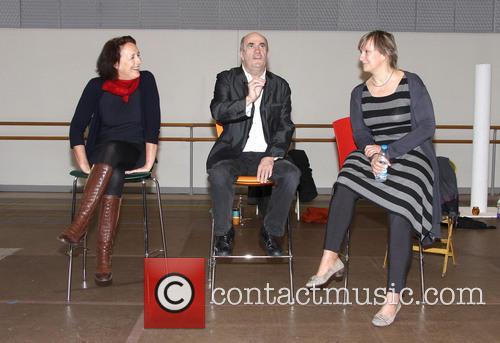 Fiona Shaw, Colm Torbin and Deborah Warner 6