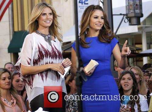 Heidi Klum and Maria Menounos 27