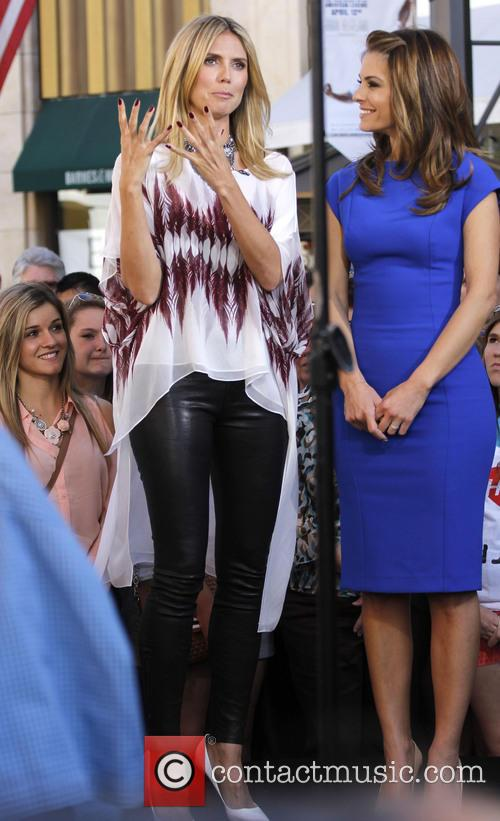 Heidi Klum and Maria Menounos 28