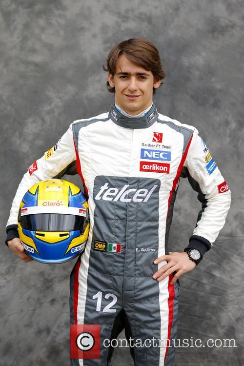 esteban gutierrez mexico team sauber ferrari c32 australian formula one 3556557