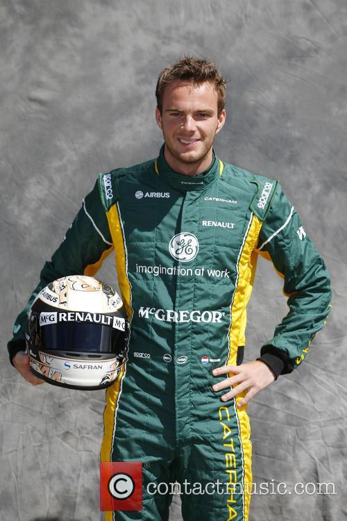 Formula One, Giedo van de GARDE, NL and CATERHAM Renault CT03 1