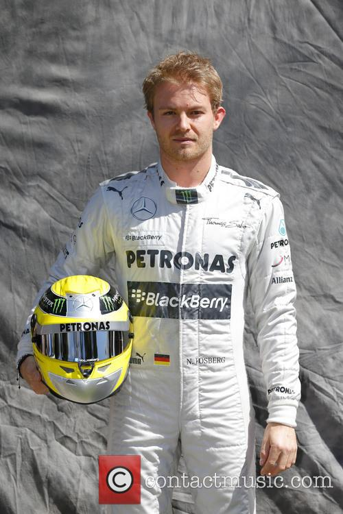 Nico Rosberg, Ger and Mercedes W04 1