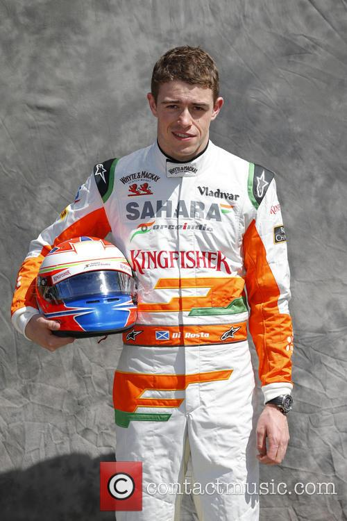 Formula One, Paul Di Resta, Uk and Team Force India-mercedes Vjm 06 2