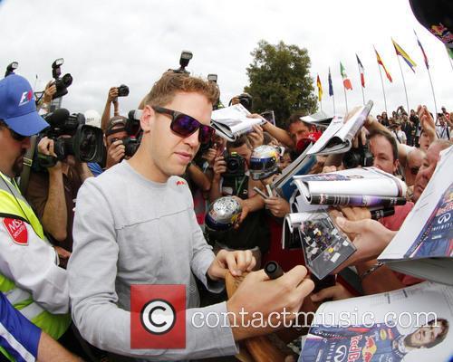 Formula One, Sebastian VETTEL, Germany and Red Bull-Renault RB9 5