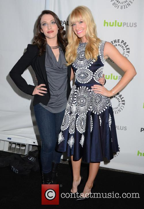 Kat Dennings and Beth Behrs 7