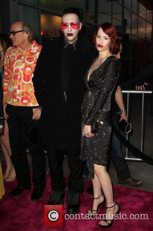 Marilyn Manson and Lindsay Usich 3