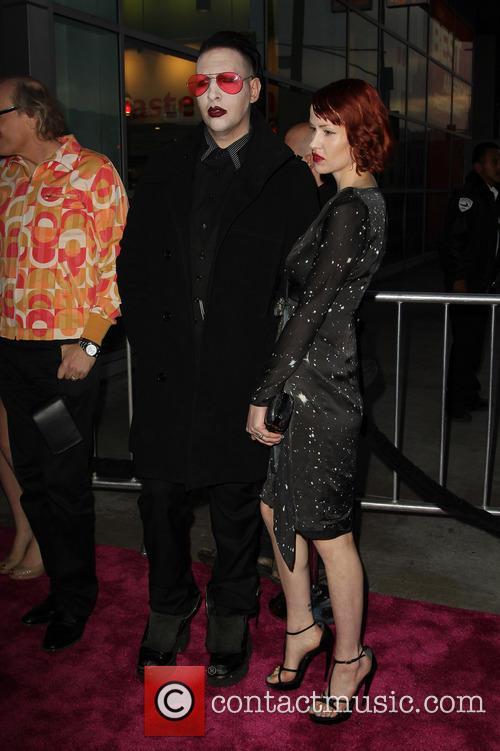 Marilyn Manson and Lindsay Usich 6