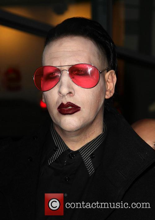 marilyn manson the los angeles premiere of 3556305