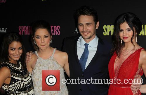 Vanessa Hudgens, Ashley Benson, James Franco, Selena Gomez, THE ARCLIGHT CINERAMA DOME
