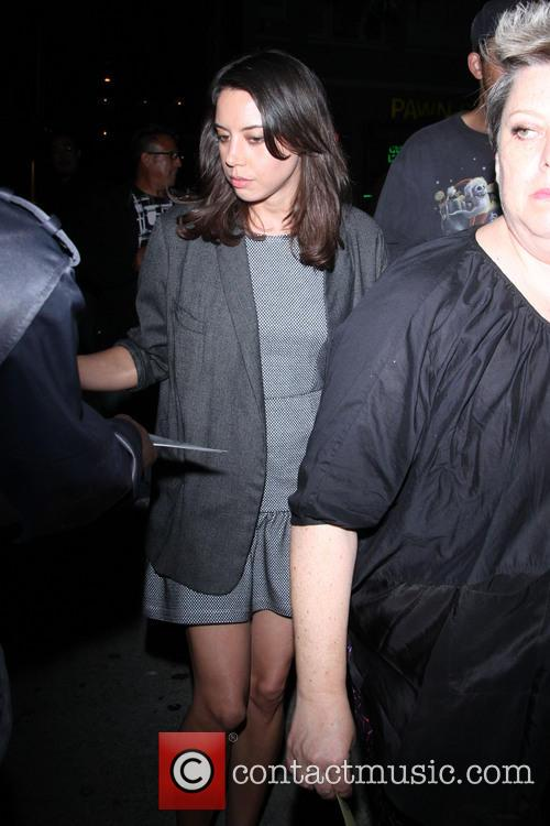 Celebrities outside the 'Spring Breakers' after party at the Emerson Theatre