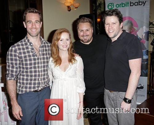 James Van Der Beek, Kimberly Van Der Beek, Scout Masterson and and Bill Horn 2