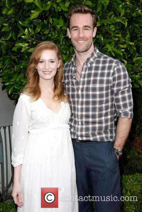 Kimberly Van Der Beek and James Van Der Beek 3