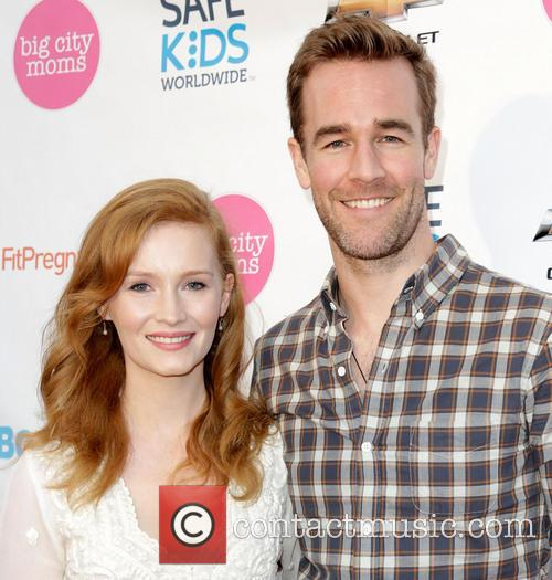 Kimberly Van Der Beek and James Van Der Beek 5